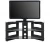 ATECA TV stolek AT371EP317 - lesklý černý