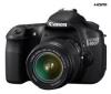 CANON EOS 60D + objektiv EF-S 18-55 mm IS + Pouzdro Zrcadlovka 15 X 11 X 14.5 CM + Pameťová karta SDHC Premium 32 GB 60x + Baterie LP E6