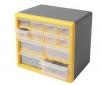 COGEX Plastová skrínka 12 vysouvacích šuplíku (62246)