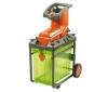 FLYMO Elektrický drtič Pac A Shredder 2500 W + Kožené zahradní rukavice 570-20 - velikost 9/L