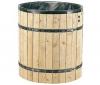 GARDENA Drevený sud na dešťovou vodu 3800-20 + Sberná nádoba dešťové vody s filtrem 3820-20