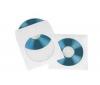 HAMA Papírové obaly na CD - bílé - 25 kusu