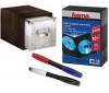 HAMA Sada 401042 (ukládací skrínka Expresso + sada 10 krabicek s DVD + 2 ctyrbarevné tužky)