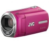JVC Videokamera GZ-MS210 ružová + Čtecka karet 1000 v 1 USB 2.0 + Brašna + Baterie BN-VG114 + Pameťová karta SDHC 8 GB