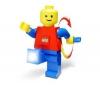 LEGO Lego dynamo lampa + Lampicka kostka Lego