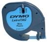 LETRATAG Zásobník plast černá/modrá S0721650  (12 x 4 mm)