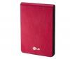 LG Externí prenosný pevný disk XD3 320 GB červený + Hub USB 4 porty UH-10