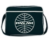 LOGOSHIRT Pan Am Globe Taška pres rameno 29cm Černá