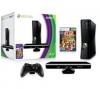 MICROSOFT Konzole Xbox 360 + Kinect - 4 GB