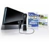 NINTENDO Konzole Wii Černá + 1 Nunchuk + 1 Wiimote + Wii Motion Plus + Wii Sport Resort + Just Dance [WII] + Ovladač Nunchuck černý [WII] + Wiimote + Wii Motion Plus - černé [WII] + Dvojitá indukcní nabíječka [WII]