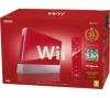 NINTENDO Konzole Wii červená + New Super Mario Bros - Edice 25. narozeniny