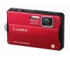 PANASONIC Lumix  DMC-FT10 - červený + Pouzdro Kompakt 11 X 3.5 X 8 CM CERNÁ + Pameťová karta SDHC 8 GB