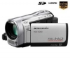 PANASONIC Videokamera Full HD HDC-SD60 - stríbrná + Brašna