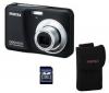 PENTAX Optio E90 černý + pouzdro + pameťová karta SD 2 GB