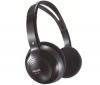 PHILIPS Bezdrátová sluchátka SHC1300/00 - Černá  + Stereo sluchátka s digitálním zvukem (CS01)