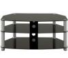 PIXMANIA TV stolek E1000 černé sklo