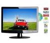 Q-MEDIA Kombinace LCD/DVD Q15A2D + Kabel HDMI - ohnutí - Pozlacený - 1,5 m - SWV3431S/10