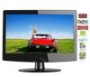 Q-MEDIA Kombinace LCD/DVD Q19A2D + Kabel HDMI - Pozlacený 24 karátu - 1,5 m - SWV3432S/10