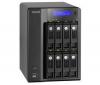 QNAP Zálohovací síťový server 8 racku (bez pevného disku) TS-809 Pro + Kamera IP bezdrátová YCB003 Black SD černá