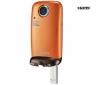 SAMSUNG Kapesní videokamera HMX-E10P oranžová