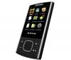 SAMSUNG Lecteur MP3 R'play YP-R0JCB 8 Go noir + Síťová/cestovní nabíječka IW200 + Sluchátka Philips SHE8500