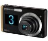 SAMSUNG ST550 béžový + Pouzdro kompaktní kožené 11 x 3,5 x 8 cm + Pameťová karta MicroSD 2 GB + adaptér SD + Baterie SLB07A + Čtecka karet 1000 v 1 USB 2.0