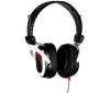 SKULLCANDY Sluchátka Agent černá/červená + Prodlužovacka Jack 3,52 mm - nastavení hlasitosti mono/stereo - Zlato - 3 m