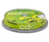 SONY CD-R 700 MB 48x (sada 10 kusu)