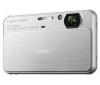 SONY Cyber-shot  DSC-T99 stríbrný + Pouzdro Kompakt 11 X 3.5 X 8 CM CERNÁ + Pameťová karta SDHC 16 GB