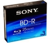 SONY Disk Blu-ray BD-R BNR25B 25 Gb (balení 3)
