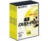 SONY DVD+RW 4,7 GB (5 kusu)
