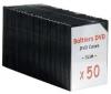 TNB Sada 50 obalu DVD černé