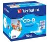 VERBATIM CD-R na tisk 700 MB (10 kusu) + Pouzdro na CD RBNW-224