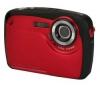 YASHICA APW10 - červený + Pouzdro Ultra Compact 9,5 x 2,7 x 6,5 cm