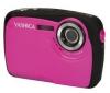 YASHICA APW10 - ružová + Pouzdro Ultra Compact 9,5 x 2,7 x 6,5 cm + Pameťová karta 2 GB