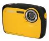 YASHICA APW10 - žlutá + Pouzdro Ultra Compact 9,5 x 2,7 x 6,5 cm + Pameťová karta 2 GB
