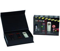 INFORAD Bezpečnostní sada - K1 + Alkohol tester + Rozdvojka do auta