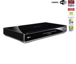 LG Multimediální prehrávač rekordér MS400H + DVD-R 4,7 GB 16x (sada 50 kusu) + 3-metre HDMI-HDMI gold-plated cable