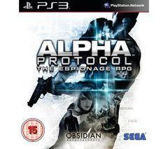 SEGA Alpha Protocol [PS3] (UK import)
