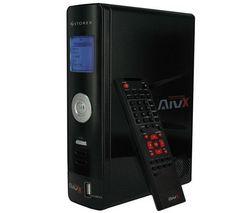 STOREX Externí pevný disk mediaplayer HD 500 GB USB 2.0 AivX-365HD + Hub 7 portu USB 2.0