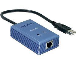 TRENDNET TU2-ET 10010/100 Mbps USB to Ethernet Adapter